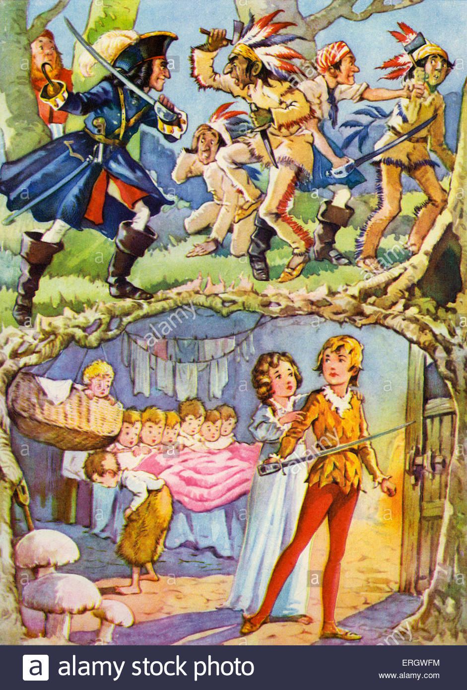 Peter pan and wendy by james matthew barrie redskins attacked by captain ergwfm