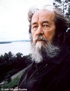 Alexandre soljenitsyne prix nobel de litterature est mort